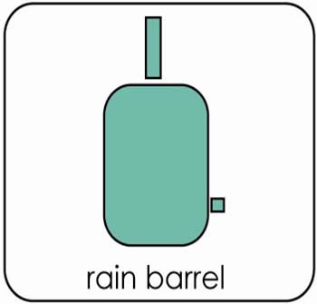rain barrel logo