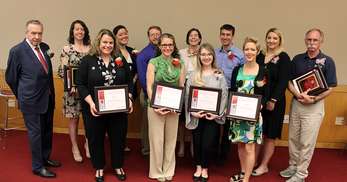 WRRI's Nicole McIntosh And Others Honored By NC State