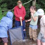 New River Conservancy members working on a project